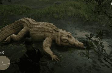 Легендарный аллигатор в РДР 2