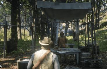 Где найти охотника в РДР 2 и зачем